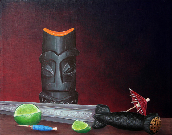 A Beautiful Gallery of 33 Amazing Tiki Art for Inspiration 5