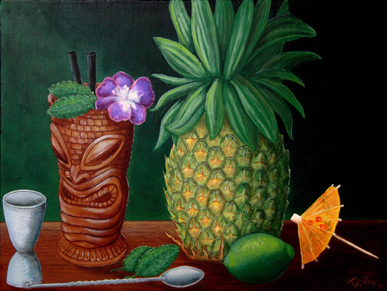 A Beautiful Gallery of 33 Amazing Tiki Art for Inspiration 6