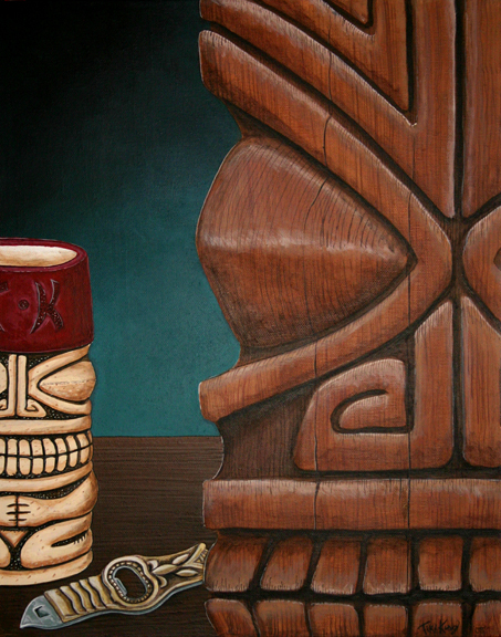 A Beautiful Gallery of 33 Amazing Tiki Art for Inspiration 7