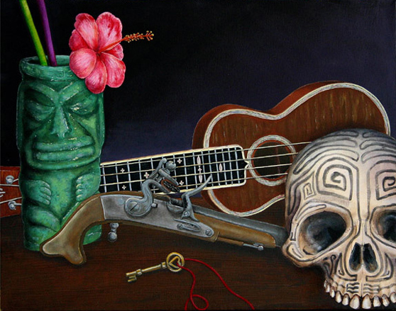 A Beautiful Gallery of 33 Amazing Tiki Art for Inspiration 8