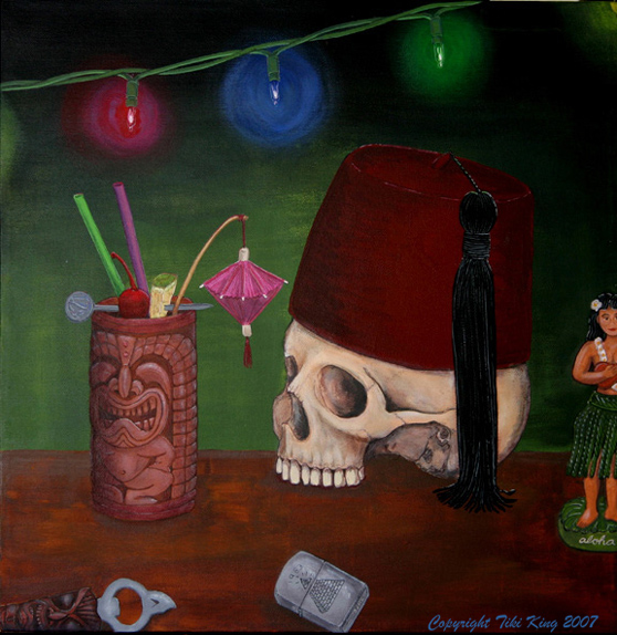 A Beautiful Gallery of 33 Amazing Tiki Art for Inspiration 9