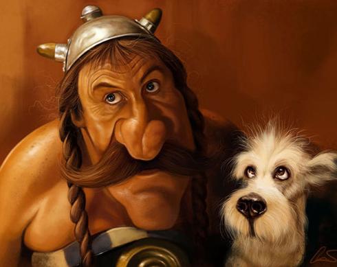 37 Delightful Celebrity Caricature Illustrations by Marco Calcinaro 10
