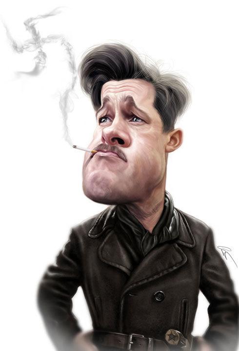 37 Delightful Celebrity Caricature Illustrations by Marco Calcinaro 12