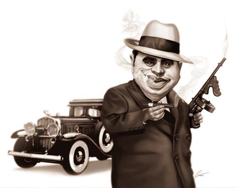 37 Delightful Celebrity Caricature Illustrations by Marco Calcinaro 14