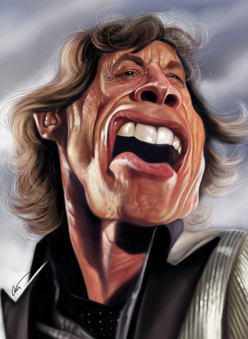37 Delightful Celebrity Caricature Illustrations by Marco Calcinaro 16