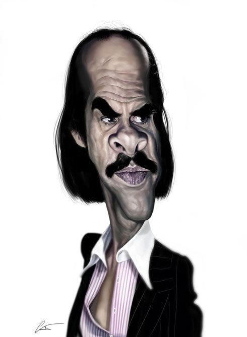 37 Delightful Celebrity Caricature Illustrations by Marco Calcinaro 2