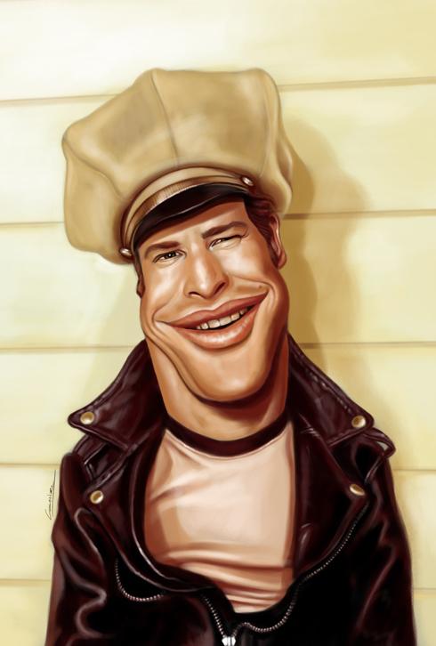 37 Delightful Celebrity Caricature Illustrations by Marco Calcinaro 27
