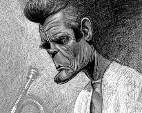 37 Delightful Celebrity Caricature Illustrations by Marco Calcinaro 28