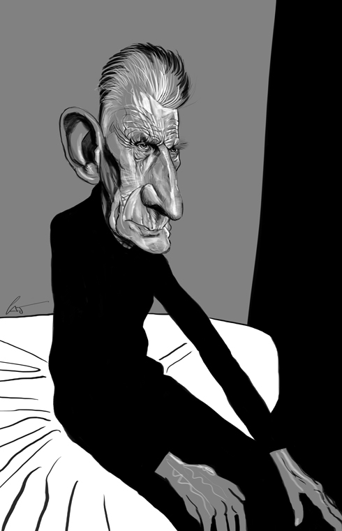 37 Delightful Celebrity Caricature Illustrations by Marco Calcinaro 29