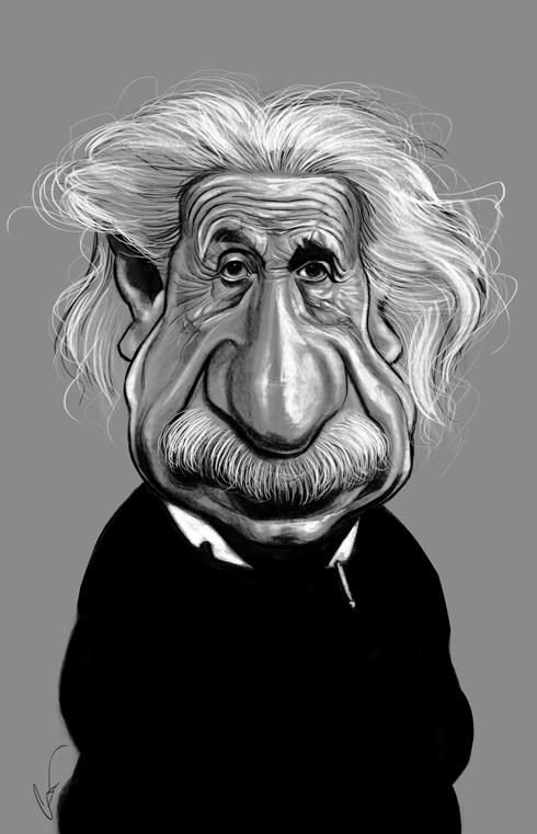 37 Delightful Celebrity Caricature Illustrations by Marco Calcinaro 30