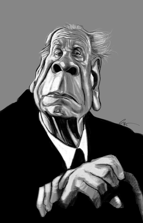 37 Delightful Celebrity Caricature Illustrations by Marco Calcinaro 31