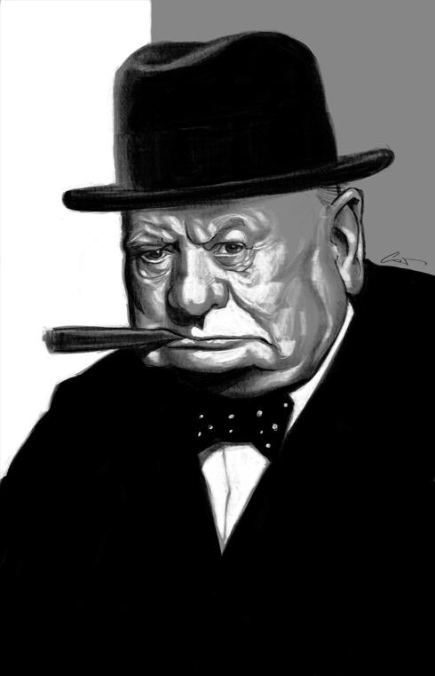37 Delightful Celebrity Caricature Illustrations by Marco Calcinaro 32