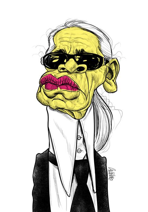 37 Delightful Celebrity Caricature Illustrations by Marco Calcinaro 33