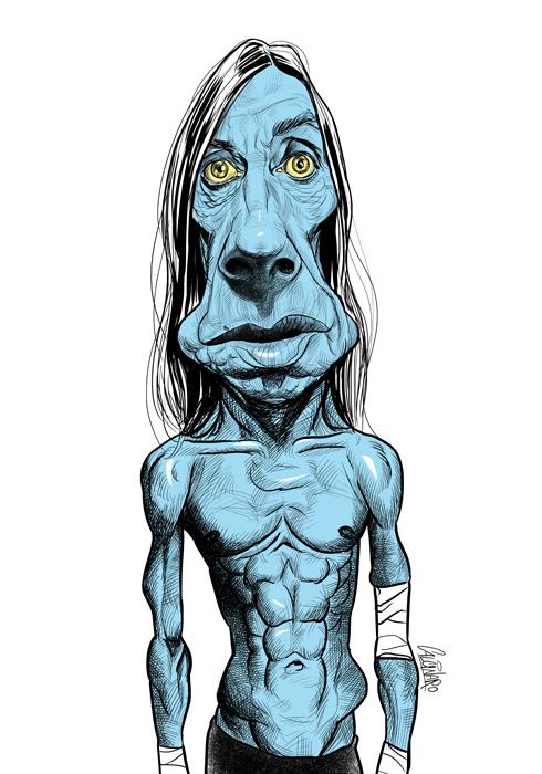37 Delightful Celebrity Caricature Illustrations by Marco Calcinaro 34
