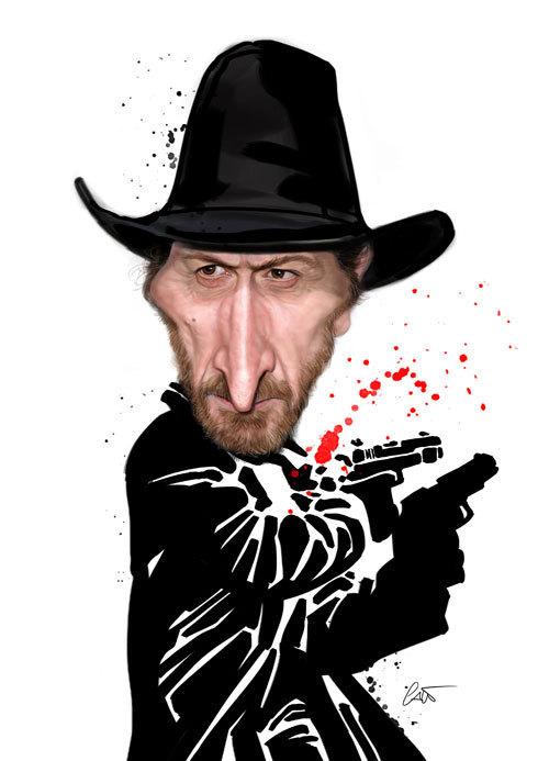 37 Delightful Celebrity Caricature Illustrations by Marco Calcinaro 9