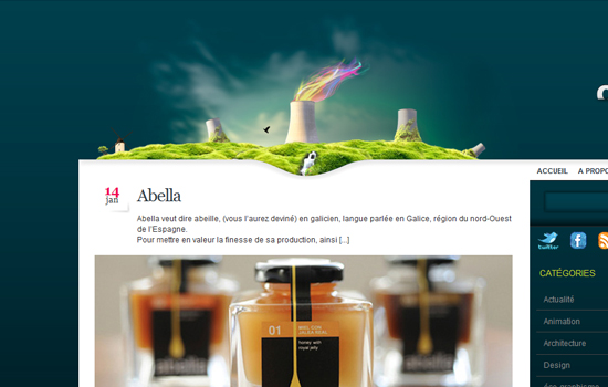 20 Awesome Web Blog Design for Inspiration 11