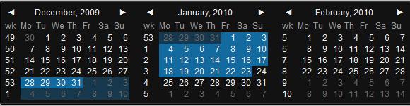 10 Useful Scripts of Calendar for Web Developers
