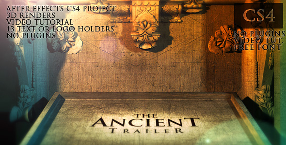 25 Amazing After Effect Templates for Movie Trailers