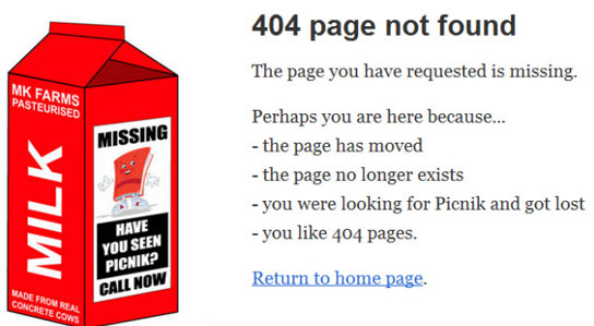 25 Entertaining 404 Error Pages to Enjoy 14