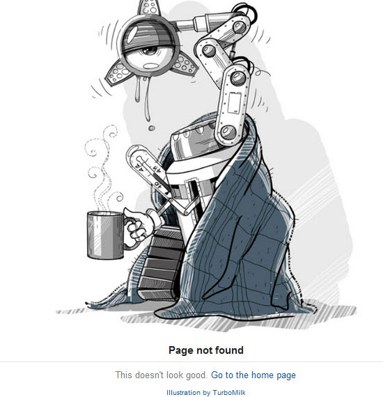 25 Entertaining 404 Error Pages to Enjoy 5