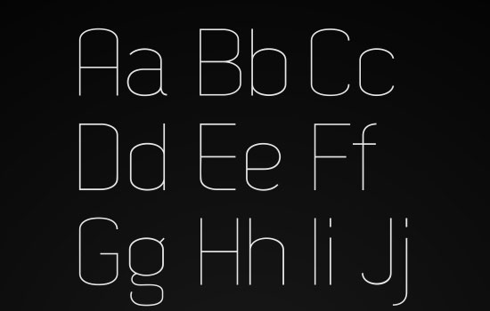 20 Free Fonts Suitable for Titles and Headlines