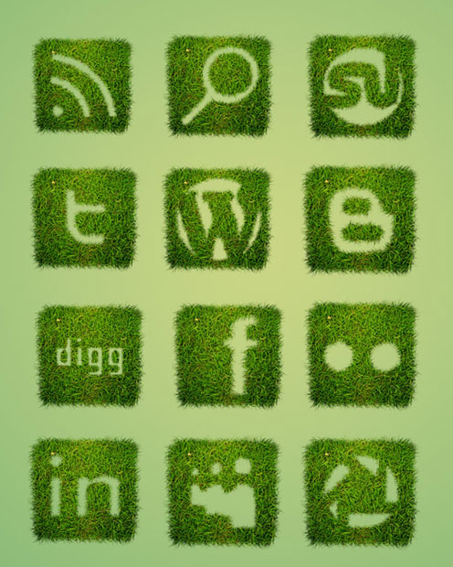 18 Free Social Media Icon Sets with Awesome Creativity 14