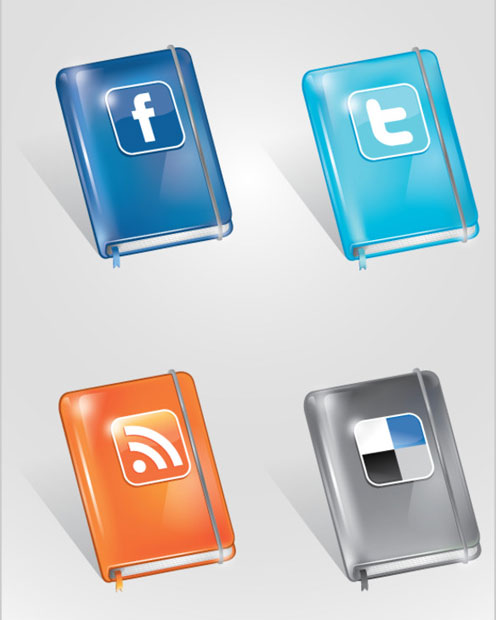 18 Free Social Media Icon Sets with Awesome Creativity 15