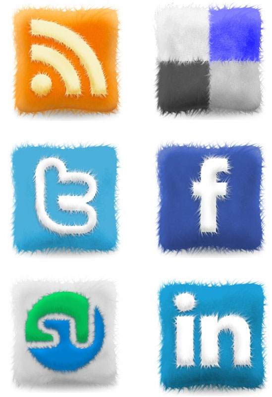 18 Free Social Media Icon Sets with Awesome Creativity 5