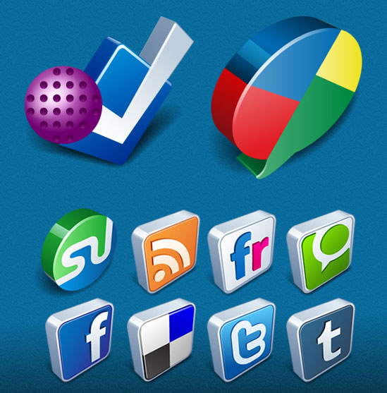 18 Free Social Media Icon Sets with Awesome Creativity 7