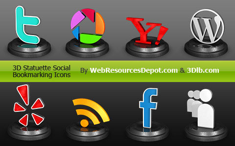 18 Free Social Media Icon Sets with Awesome Creativity 9