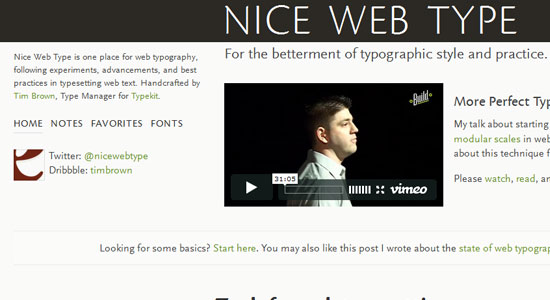 10 Resources to improve your web typography 7