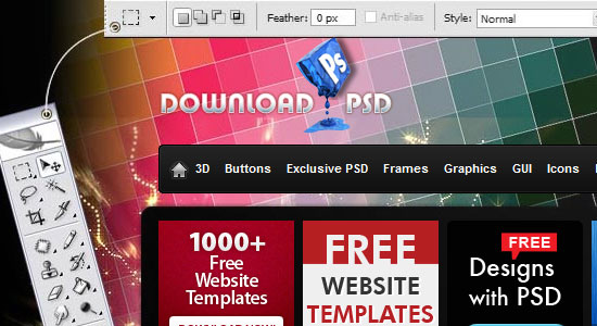 Free Photoshop and Vector Resources for Designers 1