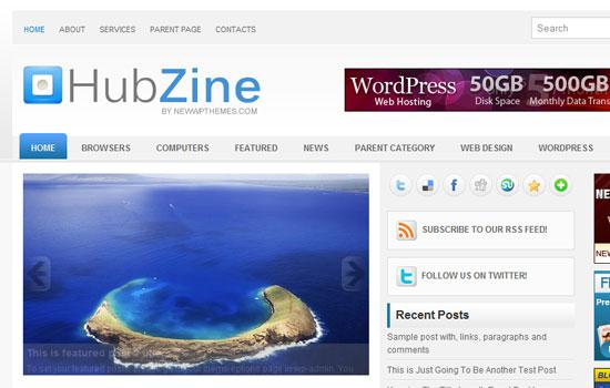20 Beautiful Wordpress Themes for Free Download 13