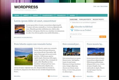 20 Beautiful WordPress Themes for Free Download