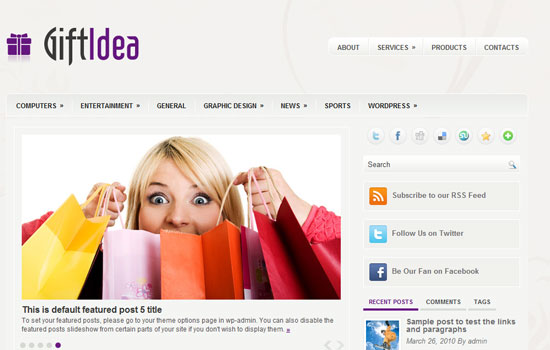 20 Beautiful Wordpress Themes for Free Download 3