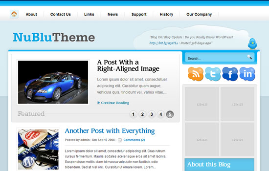 20 Beautiful Wordpress Themes for Free Download 4