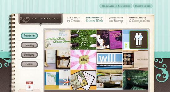 30 Creative Portfolio Designs to Inspire Designers 16