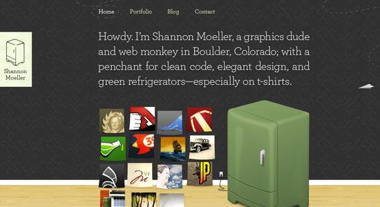 30 Creative Portfolio Designs to Inspire Designers 20