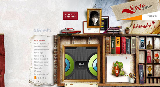 30 Creative Portfolio Designs to Inspire Designers 21