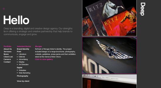 30 Creative Portfolio Designs to Inspire Designers 5