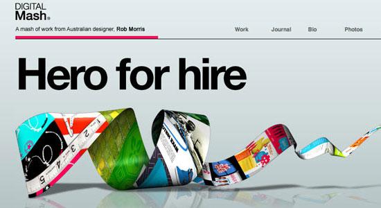 30 Creative Portfolio Designs to Inspire Designers 6