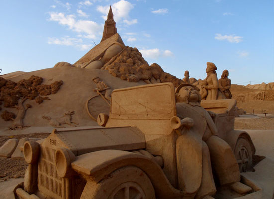 30 Wonderful Sand Sculptures You Love to Watch Closely 13