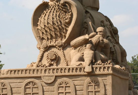 30 Wonderful Sand Sculptures You Love to Watch Closely 14