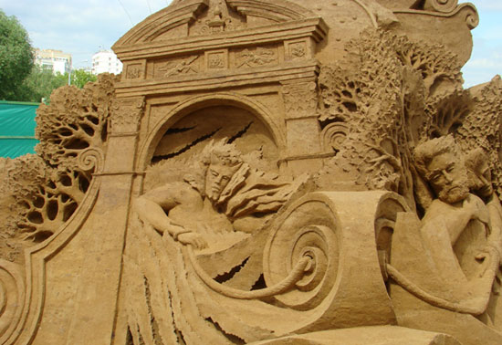 30 Wonderful Sand Sculptures You Love to Watch Closely 15