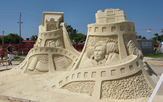 30 Wonderful Sand Sculptures You Love to Watch Closely 2