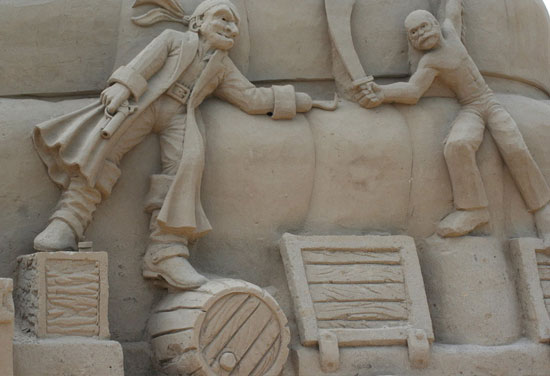 30 Wonderful Sand Sculptures You Love to Watch Closely 20