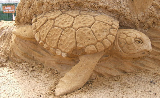 30 Wonderful Sand Sculptures You Love to Watch Closely 23