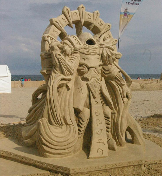 30 Wonderful Sand Sculptures You Love to Watch Closely 3