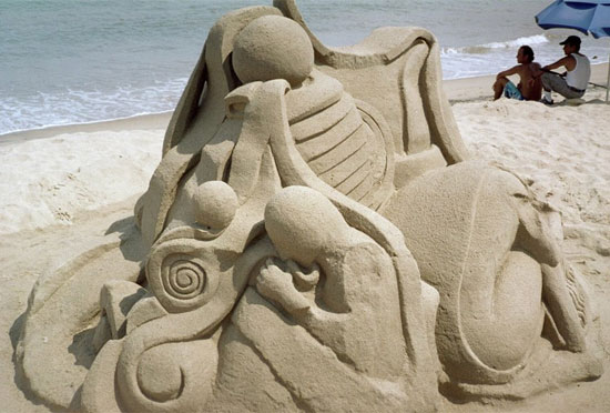 30 Wonderful Sand Sculptures You Love to Watch Closely 8