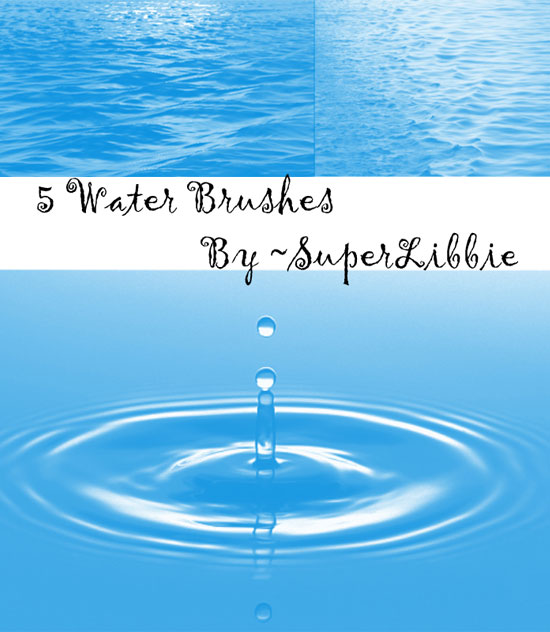 20 Free Useful Water and Cloud Brushes resource for Photoshop Users 1